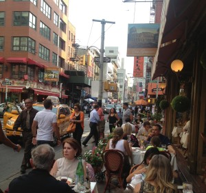 summertime in little Italy
