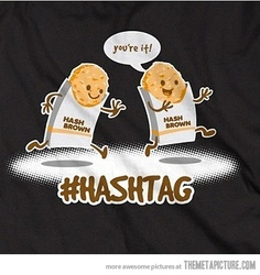 Hashtag!
