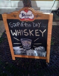 HA HA HA...My Kinda Soup!  For the Real Recipe, Keep Reading!