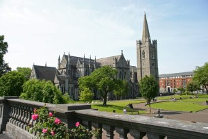 St. Patrick's in Dublin...but I feel that anywhere named after their patron saint is going to be spectacular!