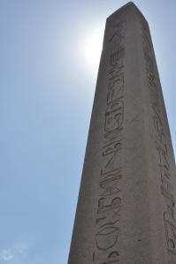 the obelisk at the Hippodome