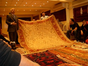 what's a trip to Istanbul without a magic carpet speech?