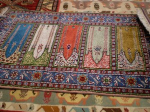 one of my favorites, however, I wasn't interested in schlepping a big ol' rug around for 17 days!