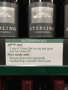 wine pairing Huff 4
