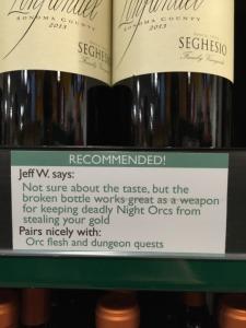 wine pairing Huff 5