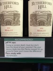 wine pairing Huff7